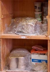 Pottery storage